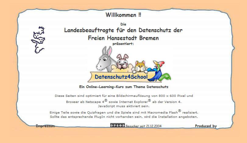 datenschutz4school